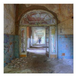 Póster Puertas y pasillos 03,0, lugares perdidos, Beelitz