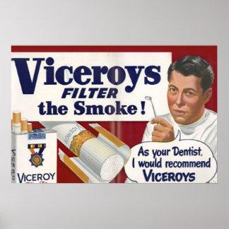 Póster Pues su dentista yo recomendaría a virreyes