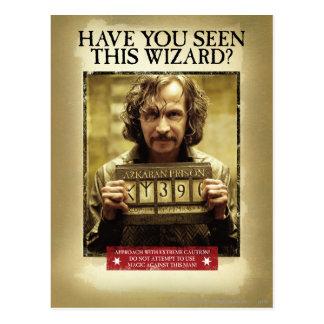 Poster querido negro de Sirius Postal