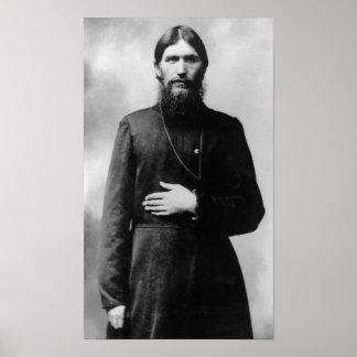 Póster Rasputin el monje enojado