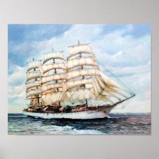 Póster Regata Cutty Sark/Cutty Sark Tall Ships' Race