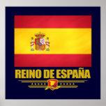 Póster Reino de Espana