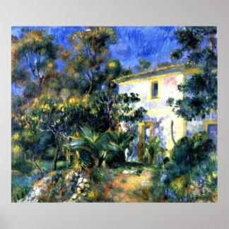 Póster Renoir - paisaje argelino