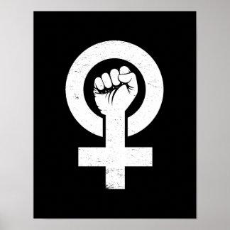 Póster Resistencia feminista