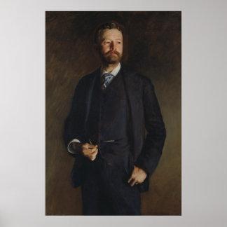 Póster Retrato de Henry Cabot Lodge por JS Sargent