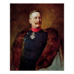 Póster Retrato de Kaiser Wilhelm Ii