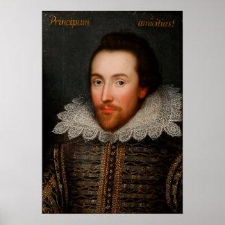 Póster Retrato William Shakespeare de Cobbe