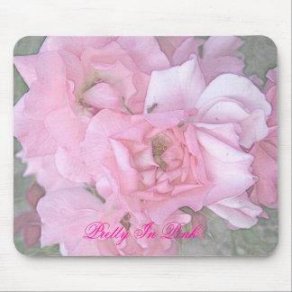 Poster rosado del lápiz del color de los rosas, bo alfombrilla de ratón
