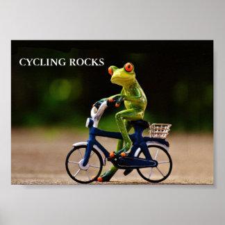 Póster Rosks de ciclo