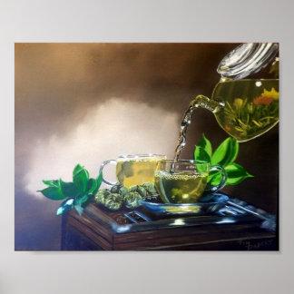 Póster Rotura de té