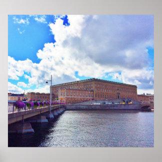 Póster Royal Palace en Estocolmo