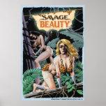 Poster salvaje de la belleza