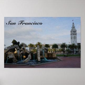 Póster San Francisco el poster de Embarcadero