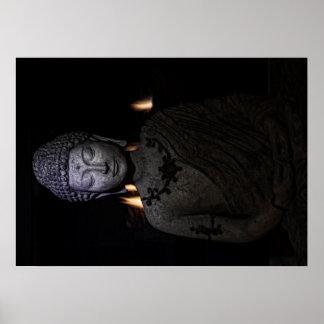 Póster Sea la luz en el mundo, Buda
