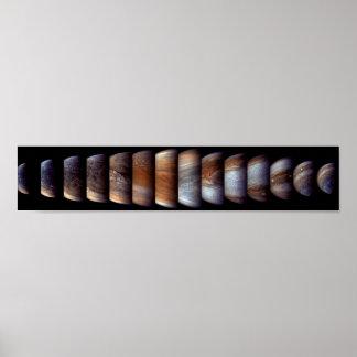 Póster Secuencia de acercamiento de la nave espacial de