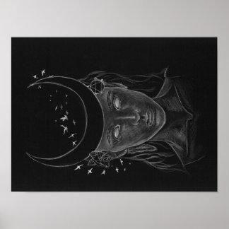 Póster Señora de la luna