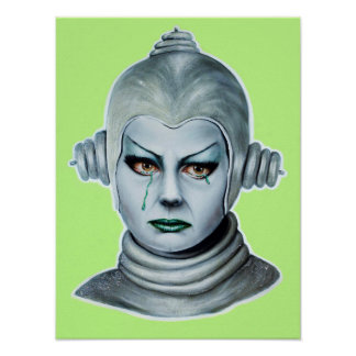 Póster Señora de plata