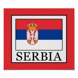Póster Serbia