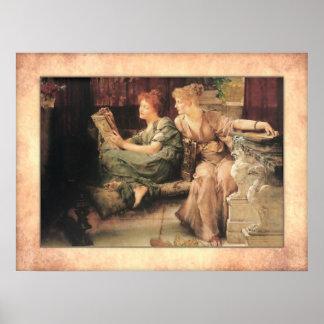 Póster Sir Lawrence Alma-Tadema - comparaciones