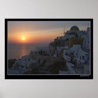Póster Sistemas de Sun en Santorini