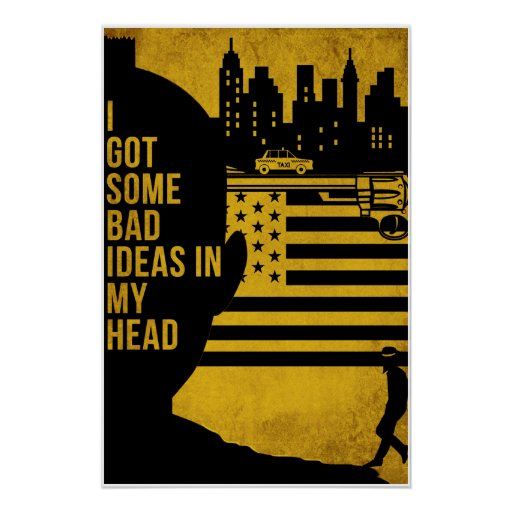 """Póster """"Some Bad Ideas"""""""
