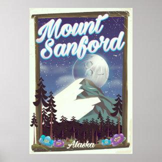 Póster Soporte Sanford Alaska