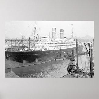 Póster SS Rotterdam