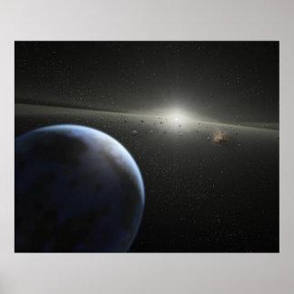 Póster SSC2005 10c es una NASA rocosa del mundo