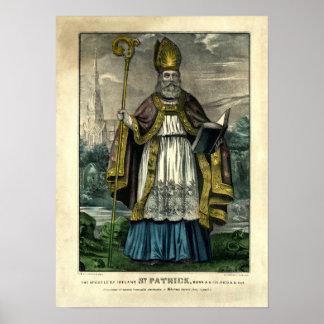 Póster St Patrick del curtidor y de Ives (1834-1907)