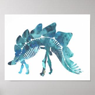 Póster Stegosaurus