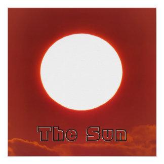 Póster Sun distante grande