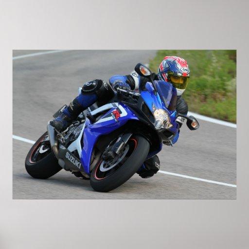 Póster Suzuki gsxr600