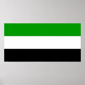Póster Symb de la región de Tayikistán del país de