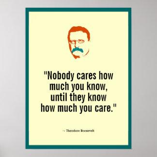 Póster Teddy Roosevelt