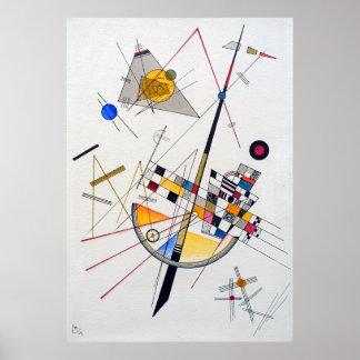 Póster Tensión delicada de Wassily Kandinsky