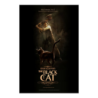 """Poster """"The Black Cat"""""""