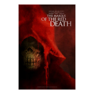 "Poster ""The Masque of the Red Death"" Póster"