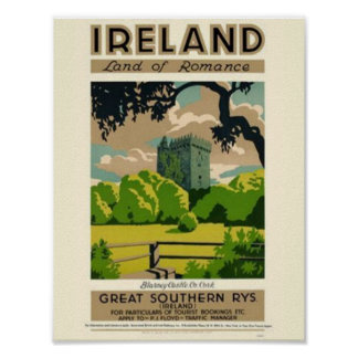 Póster Tierra de Irlanda