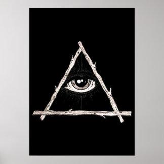 Póster Todo el ojo que ve