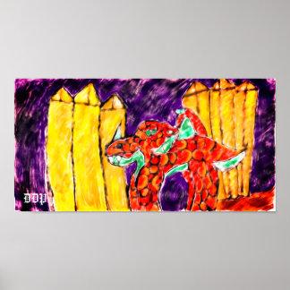 Póster Topaz del dragón