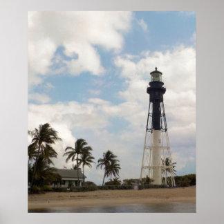Póster Torre ligera de la entrada de Hillsboro