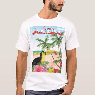 Poster toucan de la playa de Jamaica Camiseta