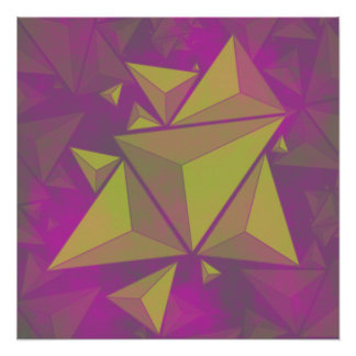 Póster triángulos