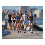 Póster Triathloners que corre 5