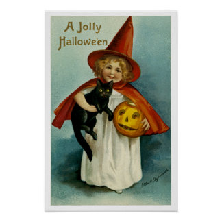 Póster Un Hallowe'en alegre