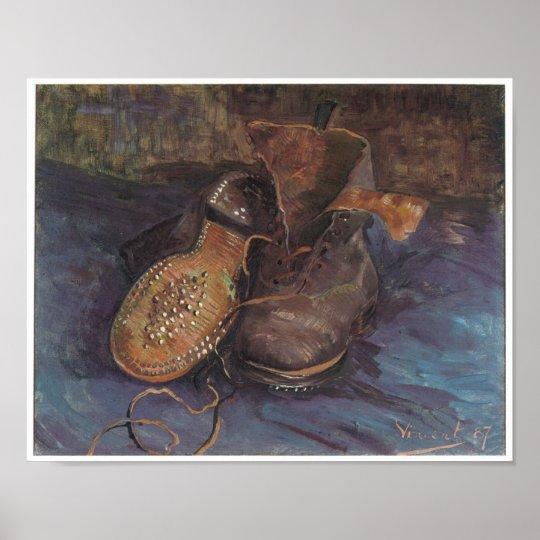 Póster Un par de botas viejas, Vincent van Gogh