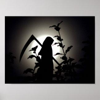 Póster Una Luna Llena de la cosecha - el placer del