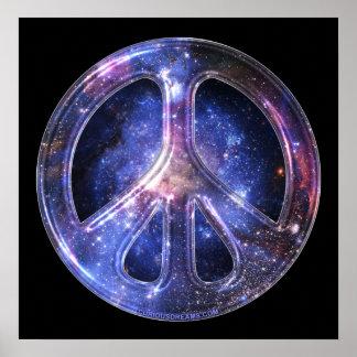 Poster universal de la paz