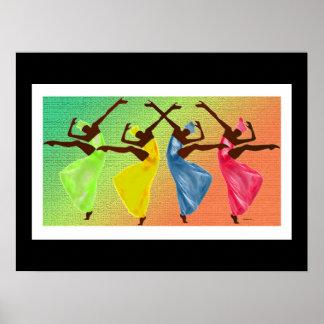 Póster Uno de los regalos más grandes de la vida es danza