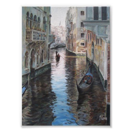 Póster Urban cityscape of Venise